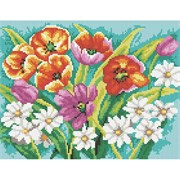 Картина стразами  Прекрасные цветы