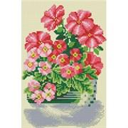 Картина стразами  Милые цветы