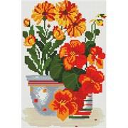 Картина стразами  Солнечные цветы