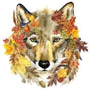Набор для вышивания бисер  Осенний волк