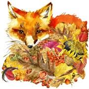 Набор для вышивания бисер  Осенний лис