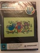 Набор для вышивания  Artiste mini  Sketchy Owls