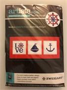 Набор для вышивания  Artiste mini  Nautical MIni Kits