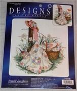Набор для вышивания  Designs for the needle. Pink Ribbon Ruban rose
