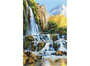 Набор для вышивания  Пейзаж с водопадом