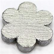 Краска акриловая металлик Сияющее серебро 120 мл