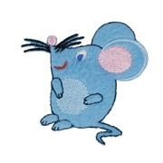 Декоративная термоаппликация   Мышка