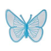 Декоративная термоаппликация   Бабочка белая