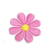 Декоративная термоаппликация   Цветок малиновый