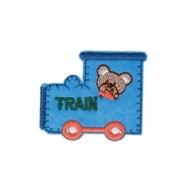 Декоративная термоаппликация   Поезд
