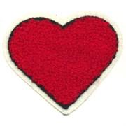 Декоративная термоаппликация   Сердце , 5 * 6,3 см