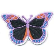 Декоративная термоаппликация   Бабочка сиреневая