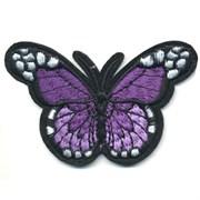 Декоративная термоаппликация   Бабочка фиолетовая