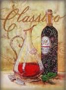 Набор для вышивания бисером  Графин и вино