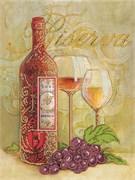 Набор для вышивания бисером  Бокалы  и вино