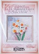 Набор для вышивания бисером  N-Нарцисс