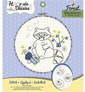Лес. Набор для вышивания и детского творчества Hoop-sie Daisies Forest