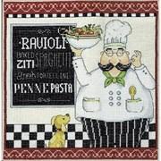 """Набор для вышивания  """"Pasta Chef"""" (""""Паста от шеф-повара"""")"""