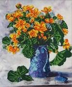 Набор для вышивания бисером  Желтые цветы