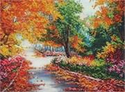 Набор для вышивания бисером  Осенний парк