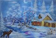 Набор для вышивания бисером  Зимняя сказка