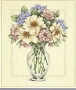 "Набор для вышивания  ""FLowers in Tall Vase"" (""Цветы в высокой вазе"")"
