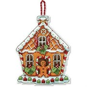 Набор для вышивания  Dimensions Gingerbread House Ornament