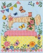 Набор для вышивания  Design Works Sewing Machine