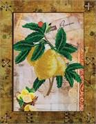 Набор для вышивания  Фрукты. Лимон