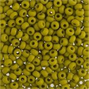 Бисер  Gamma  E376 оливковый  ( 53430)