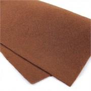 Фетр жёсткий, цвет: светло-коричневый