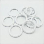 Кольцо для штор, пластик, d 38мм, белый