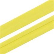 Косая бейка  Астра ,  15 мм * 5 м, цвет:  ярко-лимонный