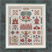 Схема печатная для вышивания  Русские мотивы