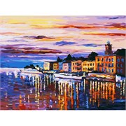 Набор для рисования по номерам  Озеро Комо - Белладжио