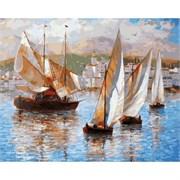 Набор для рисования по номерам  Морская прогулка по Италии