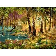Набор для рисования по номерам  Утро в лесу