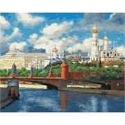 Набор для рисования по номерам  Московский Кремль