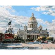 Набор для рисования по номерам  Исаакиевская площадь