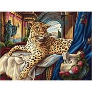 Набор для рисования по номерам  Римский  леопард