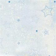 Канва дизайнерская, bestex, звёзды, 30х30 см