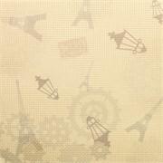 Канва дизайнерская, bestex, Париж,30х30 см