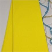 Крепированная бумага  Skroll , цвет: ярко-жёлтый