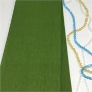 Крепированная бумага  Skroll , цвет: оливково-зелёный