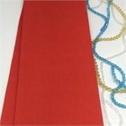 Крепированная бумага  Skroll , цвет: красный