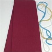Крепированная бумага  Skroll , цвет: бордовый