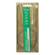 Cпицы Hobby&Pro круговые на метал. тросике, бамбук, d2,0 мм, 100 см