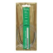 Cпицы Hobby&Pro круговые на метал. тросике, бамбук, d2,5 мм, 100 см