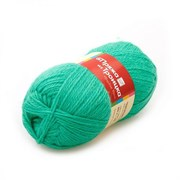 Пряжа  Чистая шерсть , цвет: зелёная бирюза