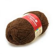 Пряжа  Деревенька , цвет: тёмно-коричневый 2